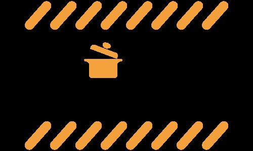 防災クッキング講座ロゴ